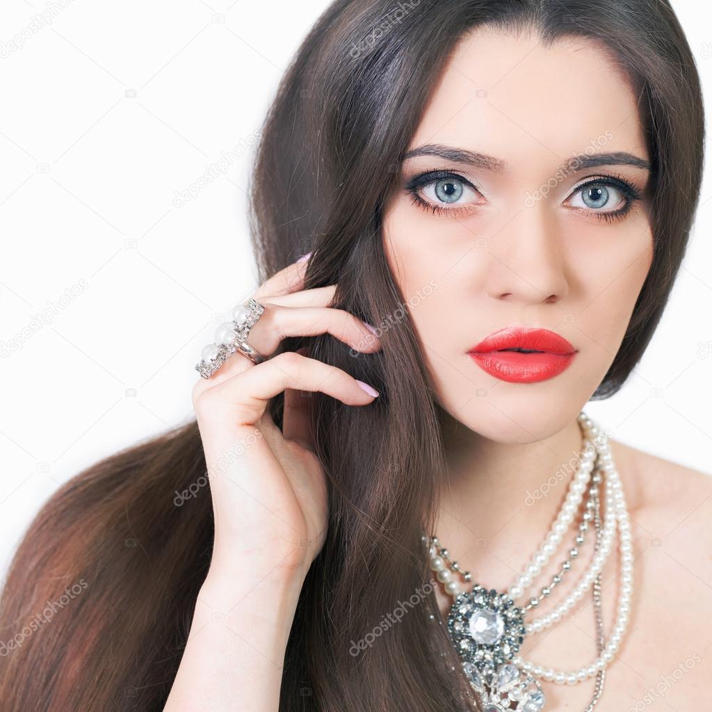 Фото красивого макияжа и прически