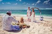 Traditional wedding in Bali — Stock Photo