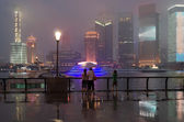 Pudong in Shanghai, Expo house 2010. China. — Stock Photo