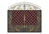 Ворота — Vetor de Stock
