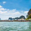 A sea gypsy village at Phang nga bay, Thailand — Stock Photo #71710755