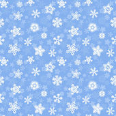 Snowflakes seamless pattern — Stock Vector