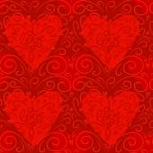 Valentine's day pattern — Stock vektor