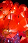 Hanging Red Lantern on Chinese Lunar New Year — ストック写真