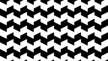 Distorted vertical parallel lines — Video Stock