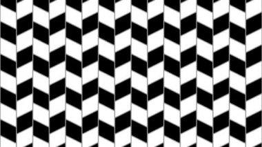 Distorted vertical parallel lines — Stock Video