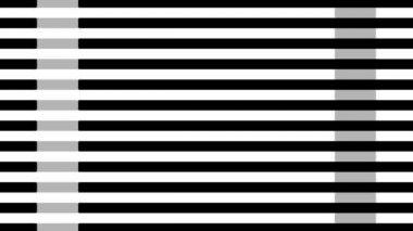 Lines in quasi different colors — Stock Video