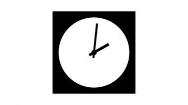 ClockA1-10-a — Stock Video