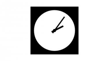 ClockA1-10-c — Stock Video