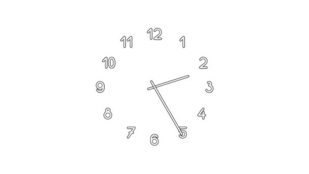 Clockn8-01-wd — Vídeo de stock