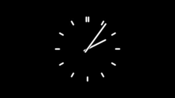 Clockn8-06-kc — Vídeo de stock