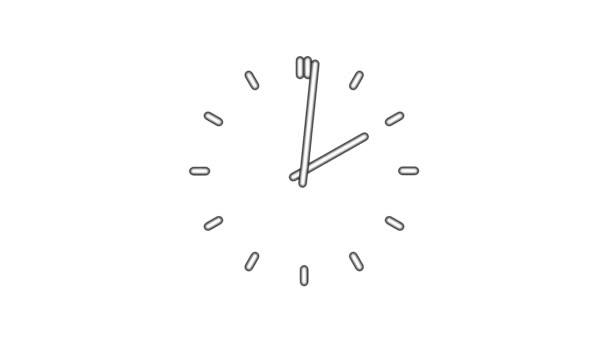 ClockN8-06-wa — Vídeo de stock