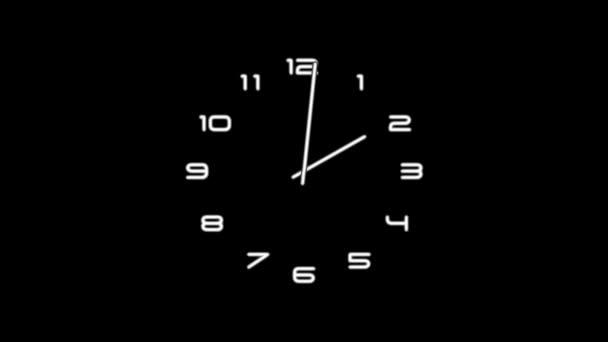 ClockN9-01-kb — Vídeo de stock