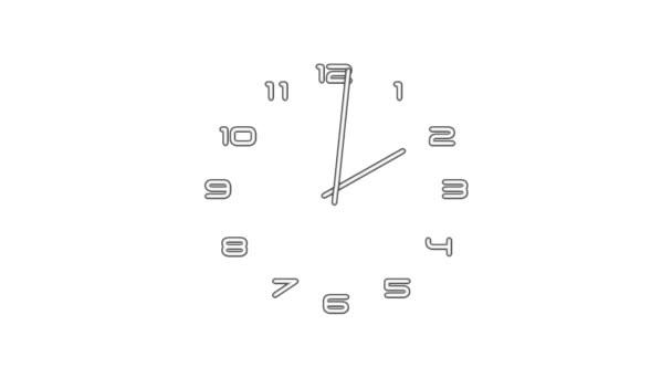 ClockN9-01-wa — Vídeo de stock