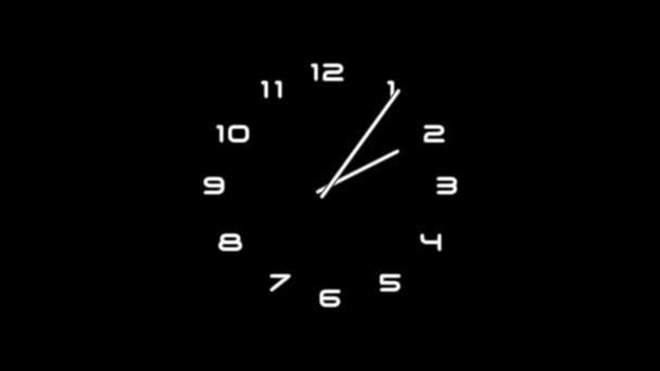 ClockN9-05-kc — Vídeo de stock