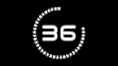 CountdownA-04-kd — Stockvideo