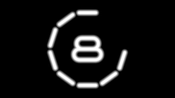 Countdowna-01-kd — Vídeo de stock