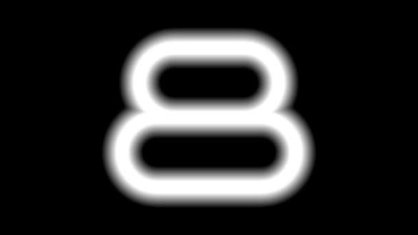 CountdownA-12-ka — Vídeo de stock