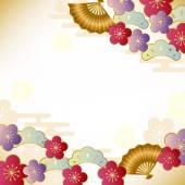 Japanese auspicious motif — Stock Vector