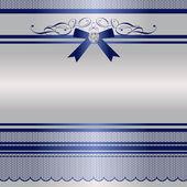 Ribbon frame — Stock Vector