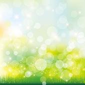 Groene achtergrond — Stockvector