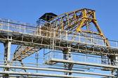 Old brigde crane — Stock Photo