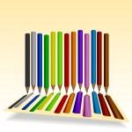 Pencil 1 — Stock Vector #70138987