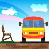 Bus1 — Wektor stockowy