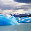 Antarctic ice island in atlantic ocean — Stock Photo #69660209