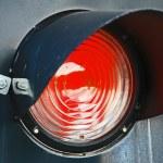 Stop light. Red light. City. — Stock Photo #69667989