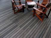 Large Back Deck — Fotografia Stock