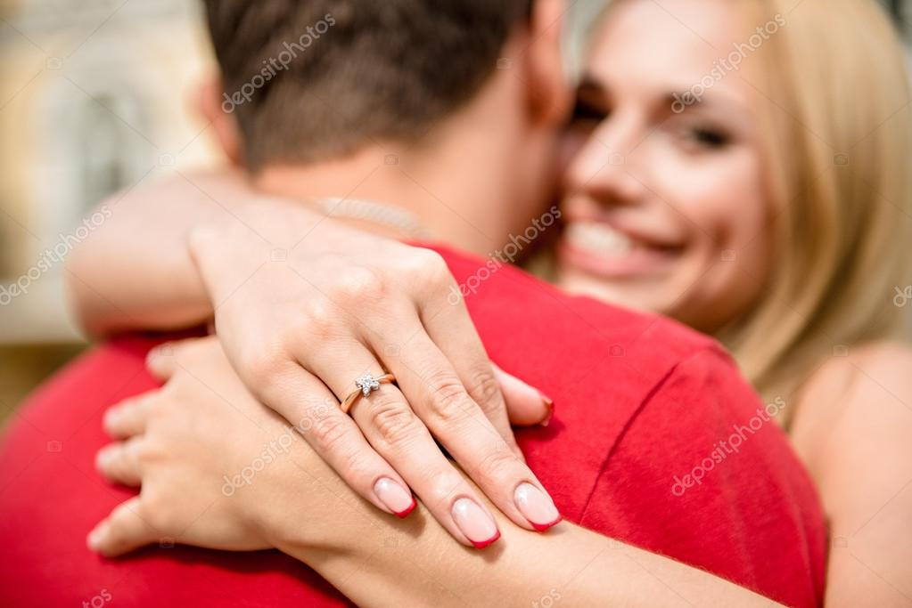 обрезка на кольцо