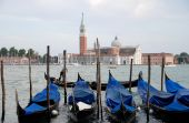The Gondolas in Venice in Italy — Stock Photo