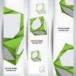 Abstract cube banners. — Stock Vector #70796605