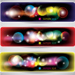Abstract lights banners — Stock Vector #71408159