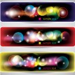 Abstract lights banners — Stock Vector #71408207