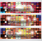 Disco web banners — Stock Vector