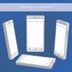 Modern smartphone mock-ups — Stock Vector #78509306