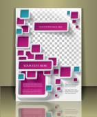Negócios brochura ou capa de revista — Vetor de Stock
