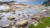 Горные озера — Стоковое фото