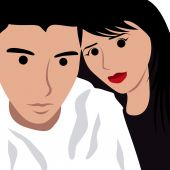 Selfie shoot vector illustration — Stock Vector
