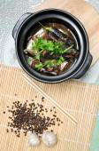 Vietnamese braised fish or ca kho to — Stock Photo