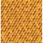 Honeycomb background — Stock Vector
