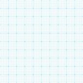 Graph, millimeter paper — Stock Vector