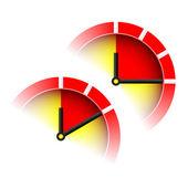 10-15 min signs — Stock Vector