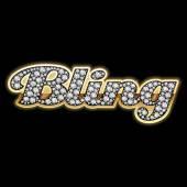 Bling-bling style — Stockvector
