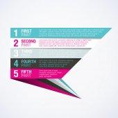 Infographics element — Stock Vector