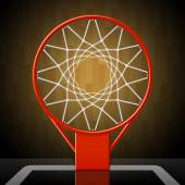 Basketballkorb — Stockvektor