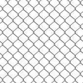 Chainlink fence — Stock Vector