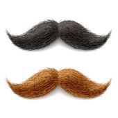 Fake mustaches — Stock Vector